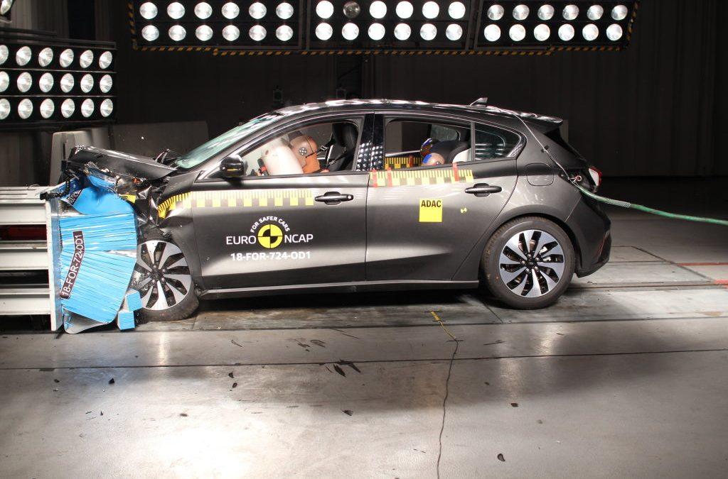 Vijf EuroNCAP sterren voor Ford Focus