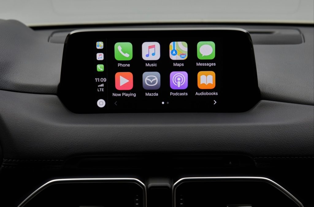 Mazda nu ook met Apple CarPlay