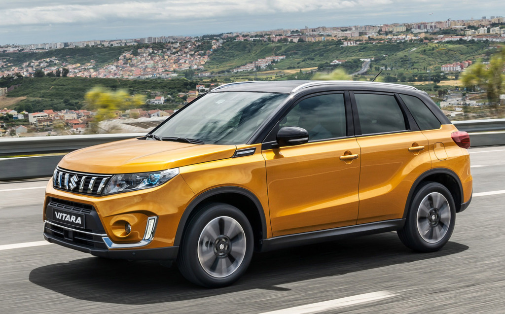 Suzuki Vitara ondergaat facelift