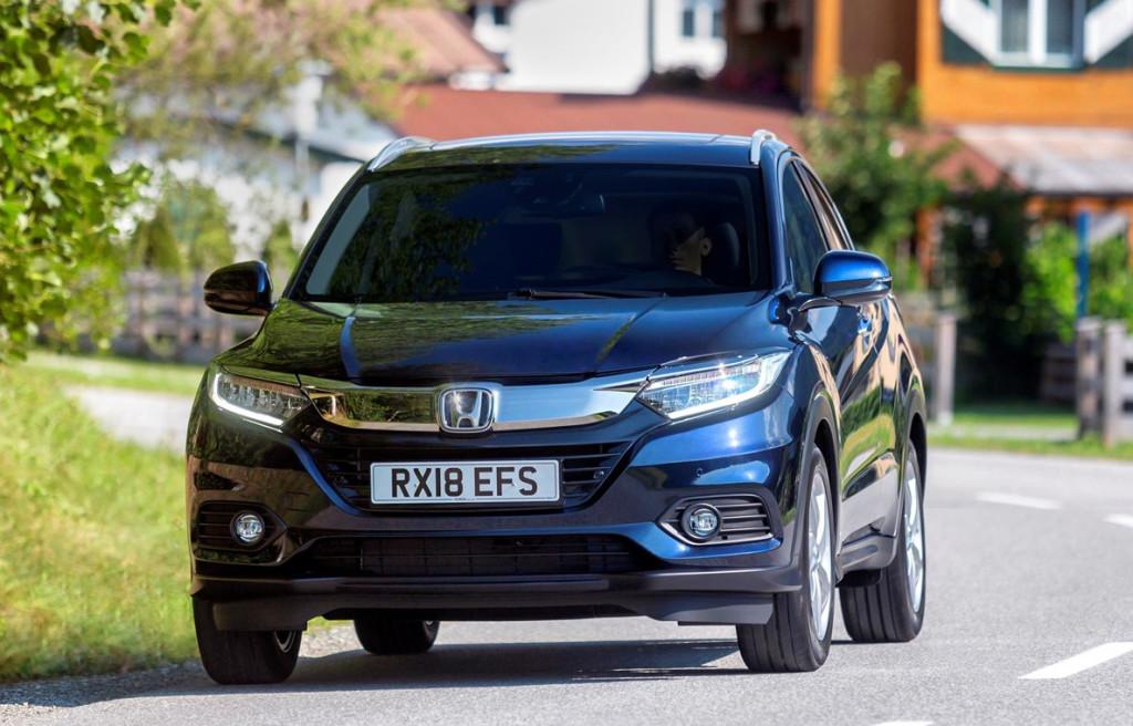 Honda HR-V ondergaat facelift