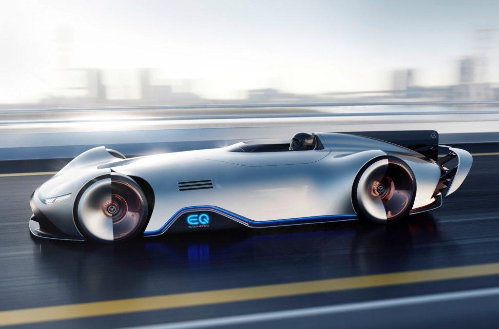 Mercedes-Benz toont EQ Silver Arrow showcar