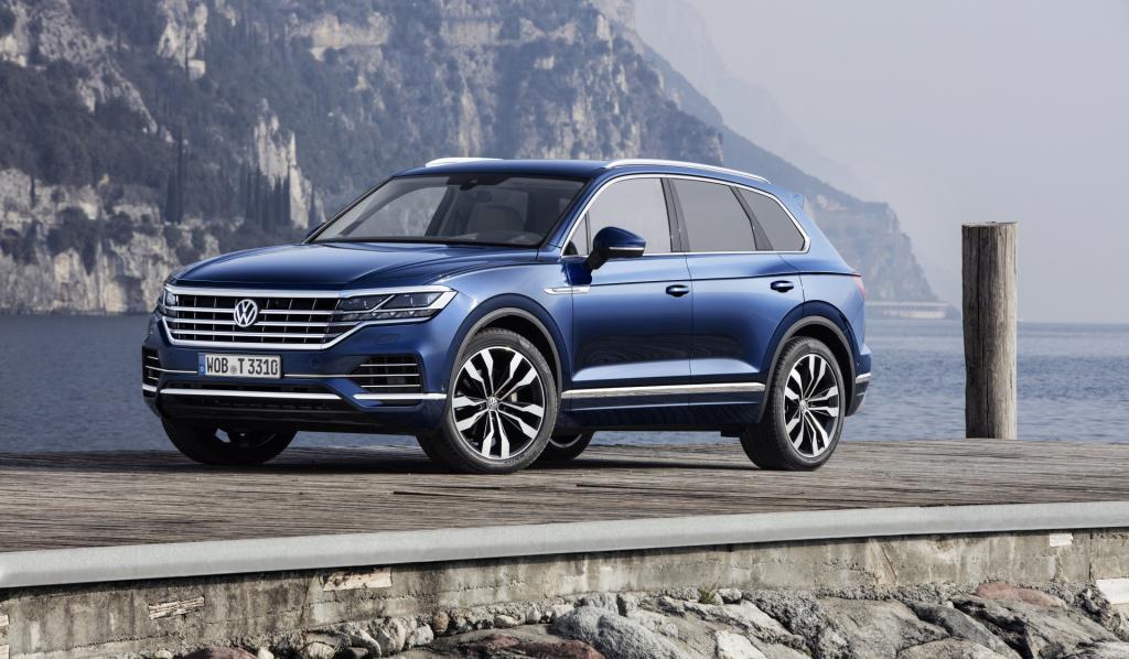 5 EuroNCAP sterren voor Volkswagen Touareg