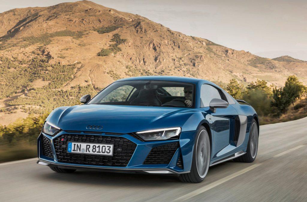 Audi R8 aangepast voor modeljaar 2019