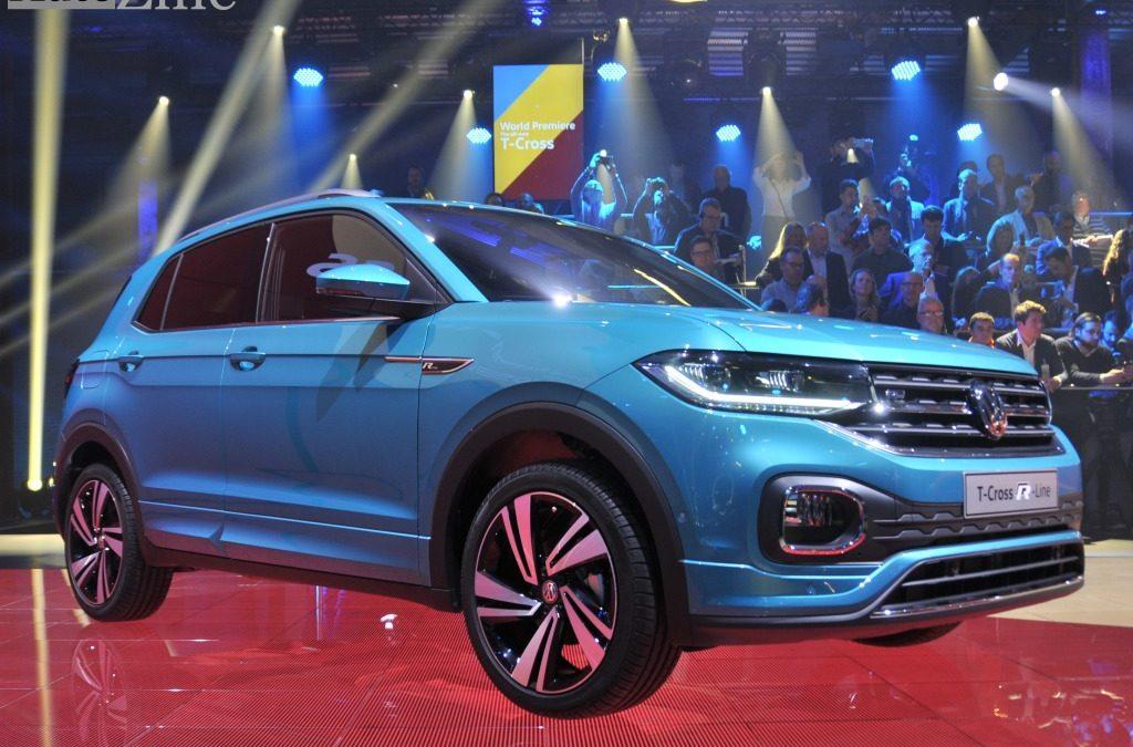 De nieuwe Volkswagen T-Cross: een feestje