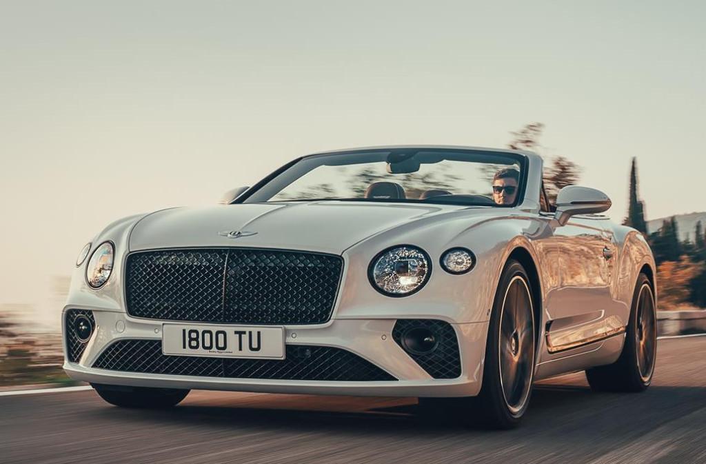 Bentley introduceert Continental GT Convertible