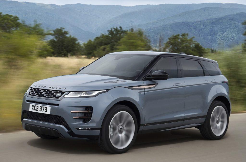 Range Rover onthult nieuwe Evoque