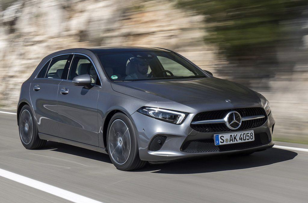 5 EuroNCAP sterren voor Mercedes A-Klasse