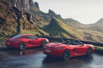 Porsche introduceert nieuwe 718T