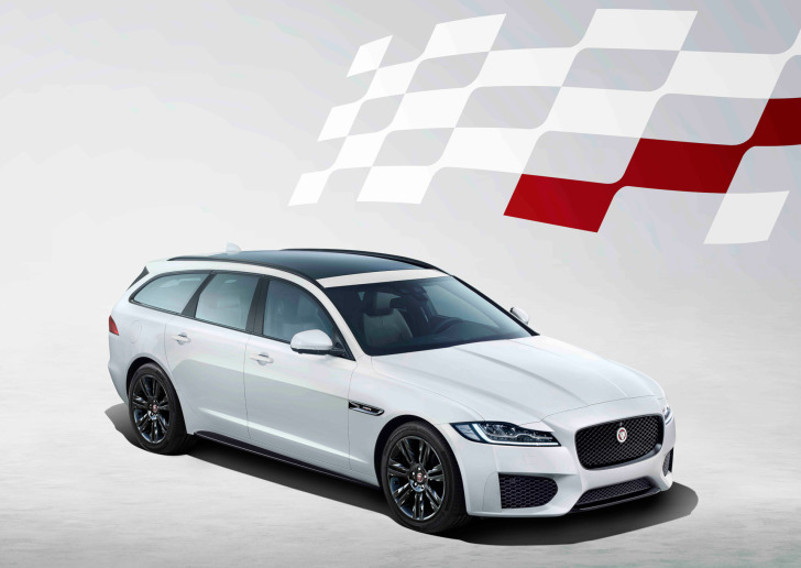 Jaguar lanceert XF Chequered Flag