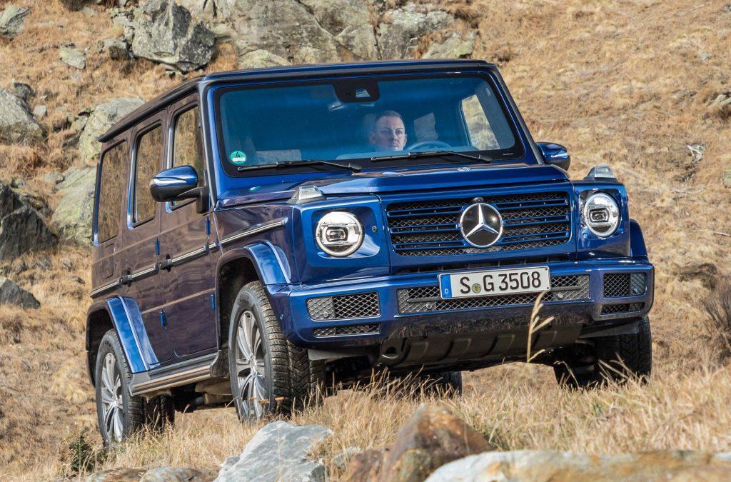 Mercedes-Benz nu als G350d