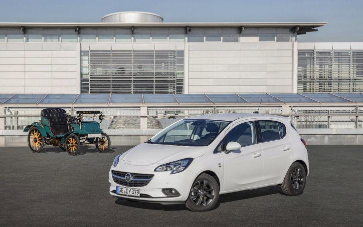 Opel Corsa 120 Jaar Edition