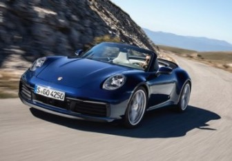 Porsche onthult nieuwe 911 Cabrio