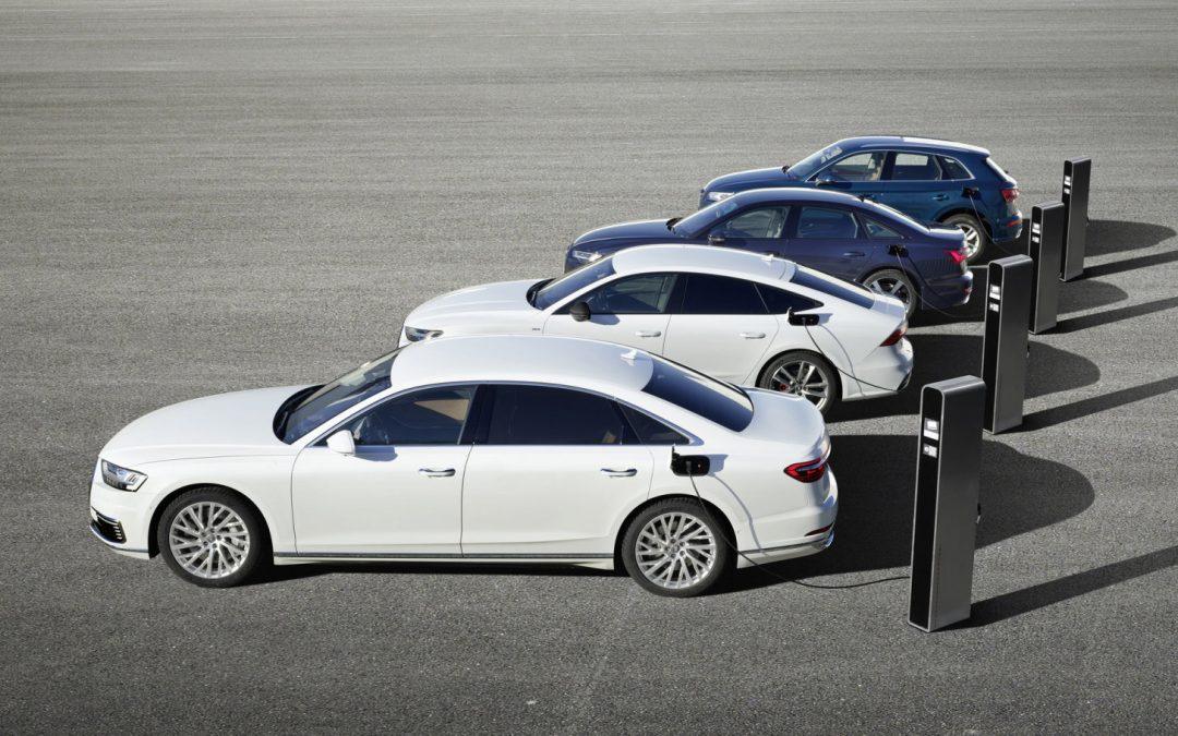 Audi introduceert Q5, A6, A7 en A8 PHEV