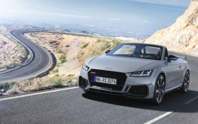 Audi vernieuwt TT RS Coupe en Roadster