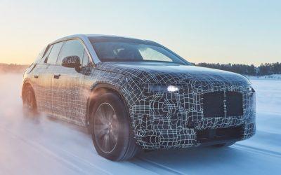 BMW test iNEXT op poolcirkel