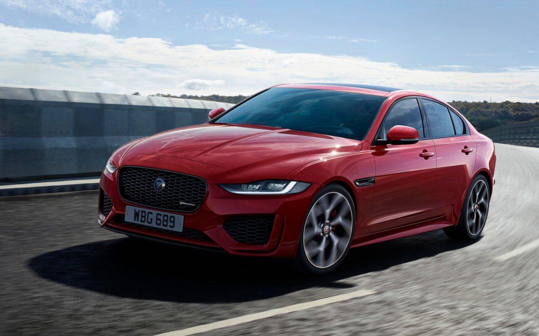Jaguar XE ondergaat facelift