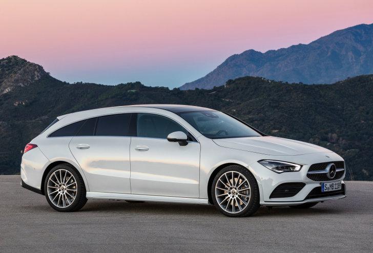 Mercedes-Benz introduceert CLA Shooting Brake