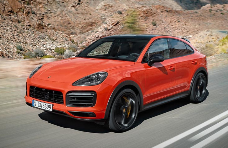 Porsche introduceert Cayenne Coupe