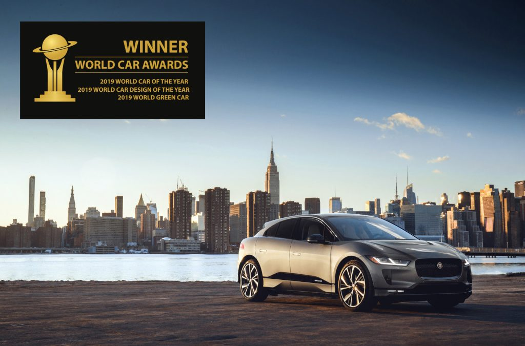 Jaguar I-Pace is World Car of the Year 2019