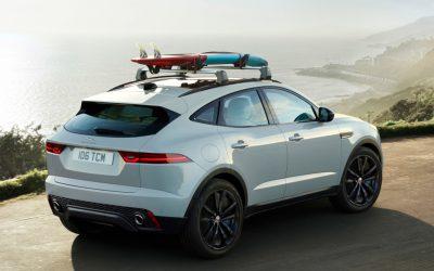Jaguar E-PACE nu ook als Chequered Flag