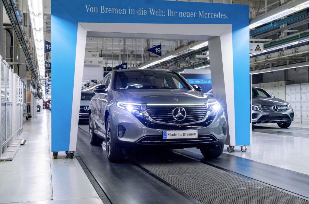 Mercedes-Benz start productie EQC