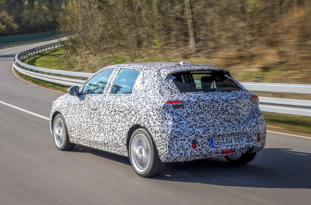 Opel legt laatste hand aan zesde Corsa
