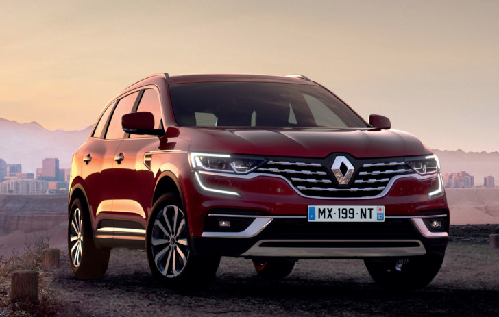 Renault Koleos ondergaat facelift