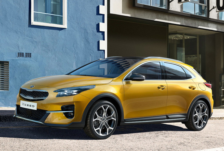 Kia presenteert XCeed