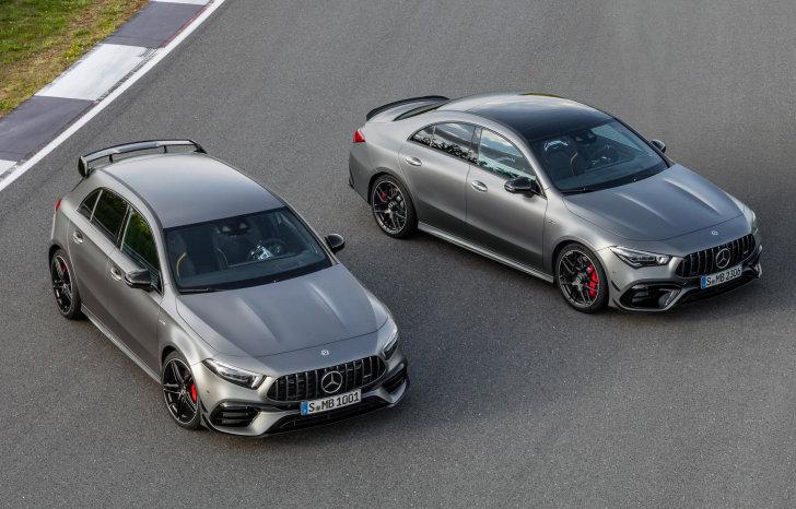 Mercedes-Benz introduceert A45 AMG en CLA 45 AMG