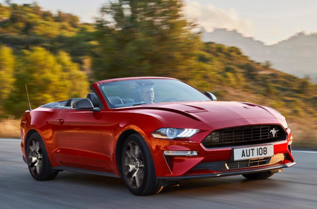 Ford presenteert jubileumversie Mustang55