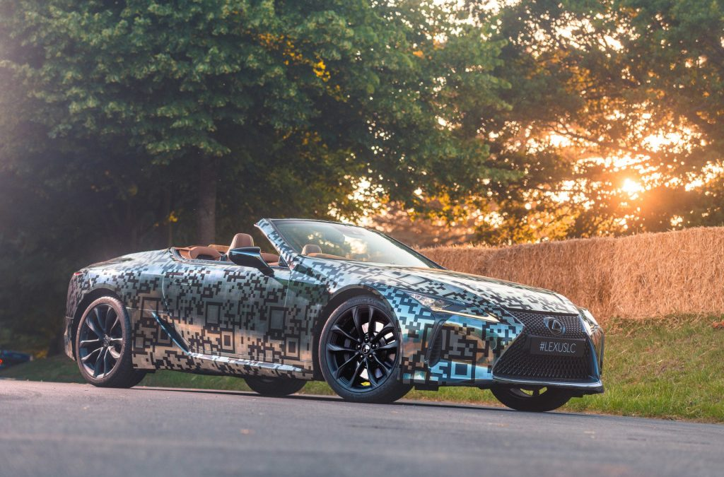 Lexus neemt LC Cabrio in productie