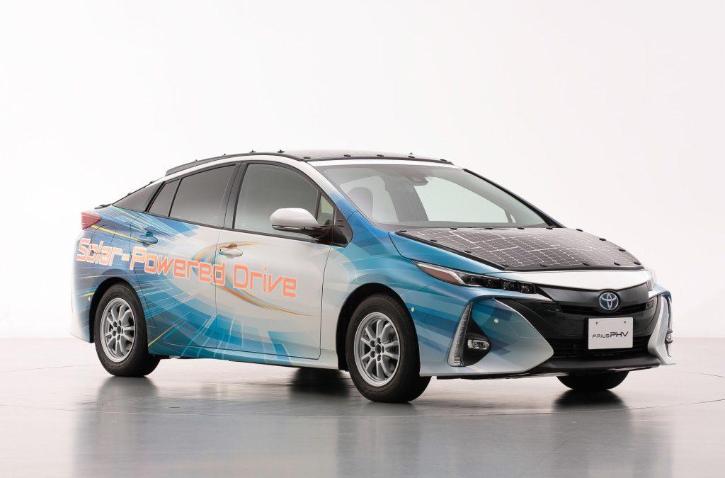 Toyota test Prius op zonne-energie