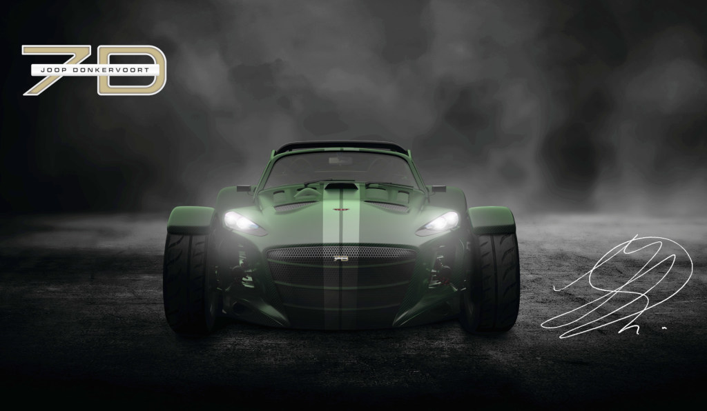Donkervoort introduceert D8 GTO-JD70