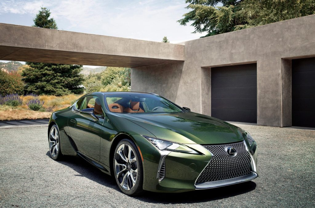 Lexus LC nu als Classic Limited Edition