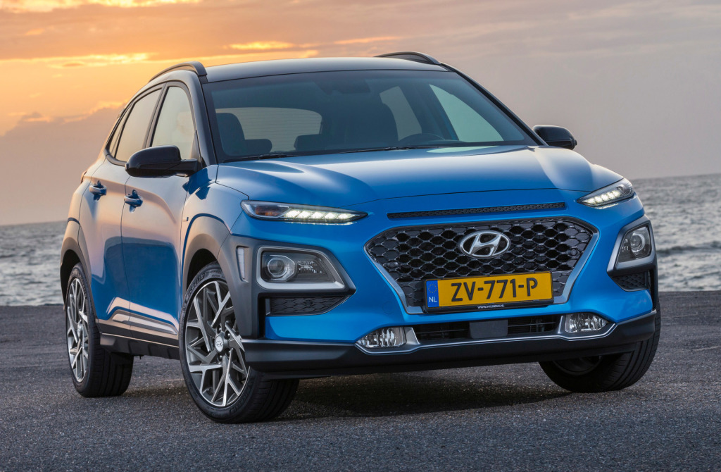 Hyundai prijst Kona hybrid