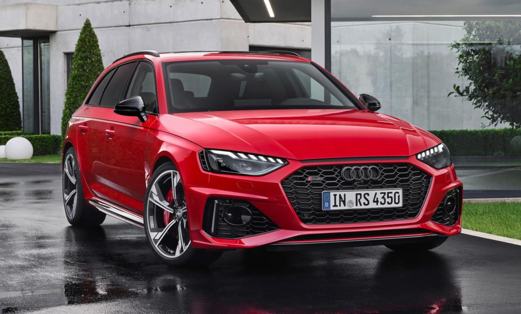 Audi RS4 Avant vernieuwd voor modeljaar 2020