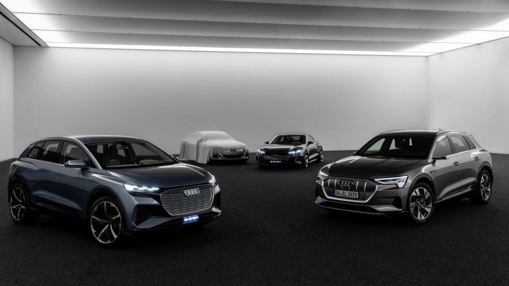 Audi gaat elektrisch