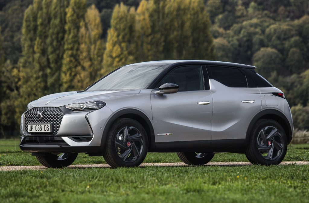 DS introduceert 3 Crossback E-Tense