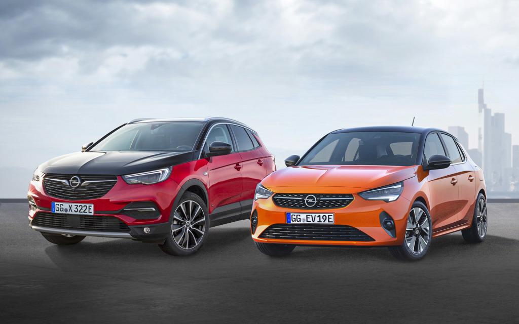 Opel kondigt 8 (deels) elektrische modellen aan
