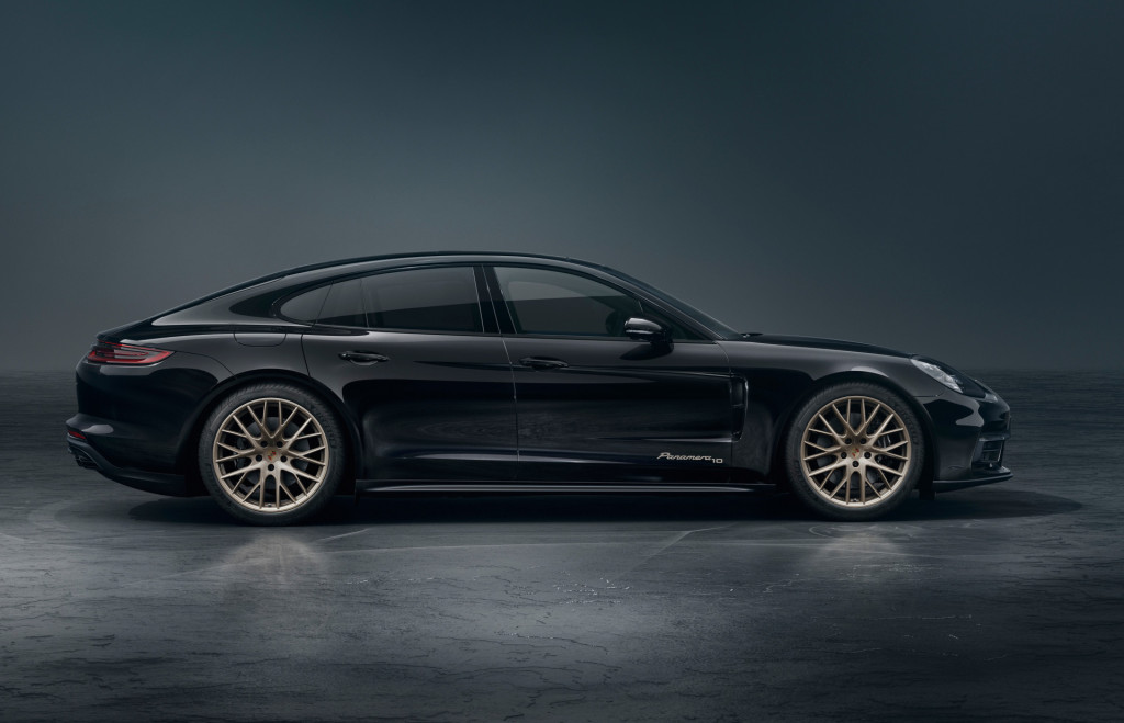 Porsche Panamera nu als 10 Years Edition