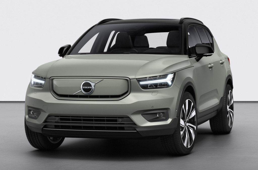 Volvo onthult XC40 Recharge