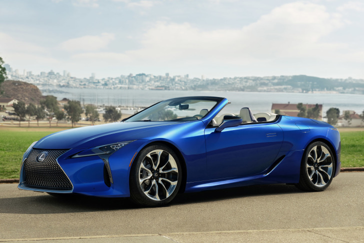 Lexus introduceert LC 500 Convertible