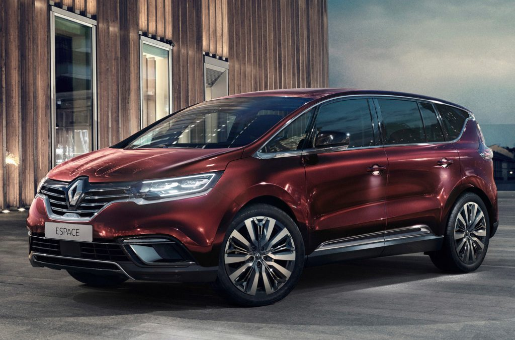 Renault Espace ondergaat facelift