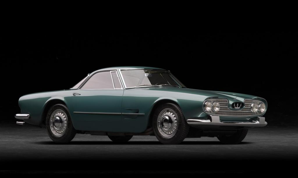 Maserati 5000 GT bestaat 60 jaar