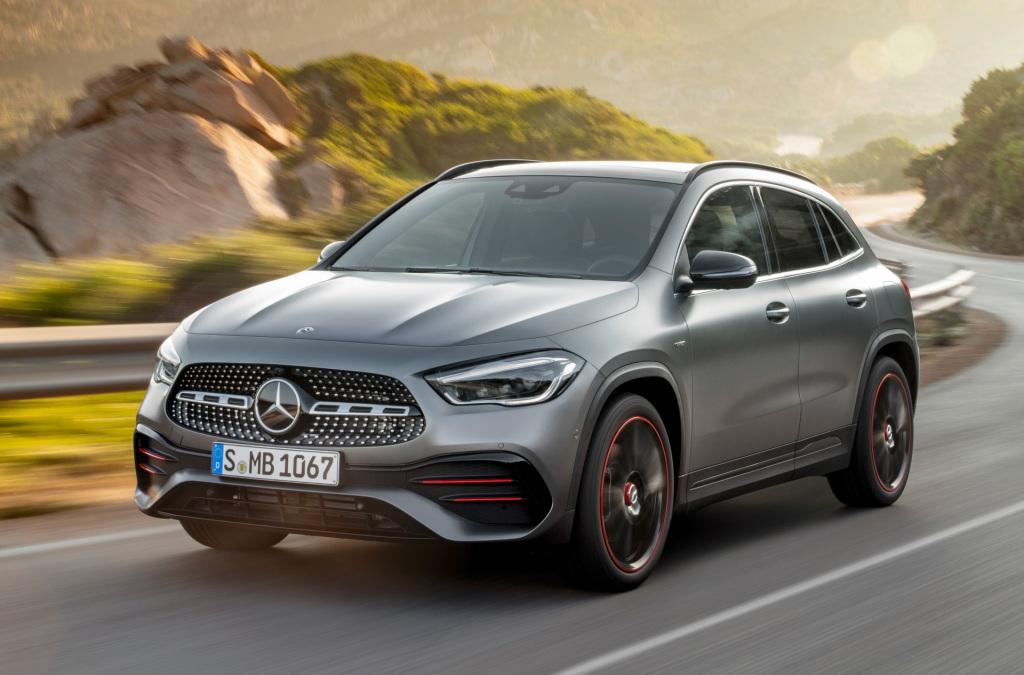 Mercedes-Benz introduceert nieuwe GLA