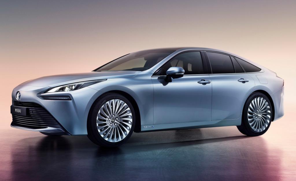 Toyota introduceert 2e generatie Mirai