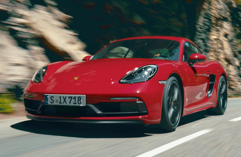 Extra cilinders voor Porsche 718 GTS