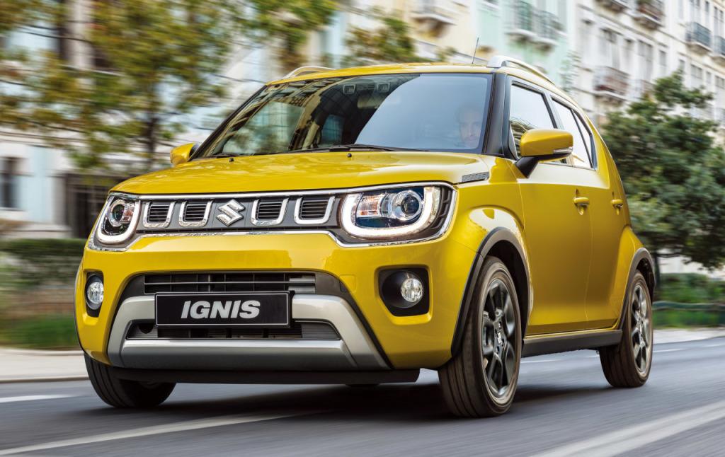 Suzuki prijst vernieuwde Ignis