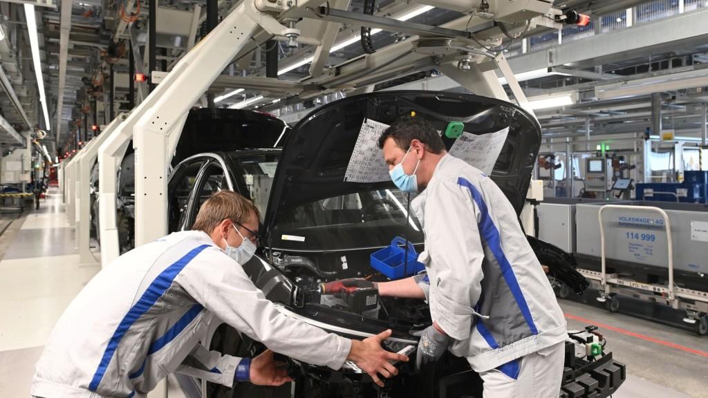 Volkswagen hervat productie ID.3
