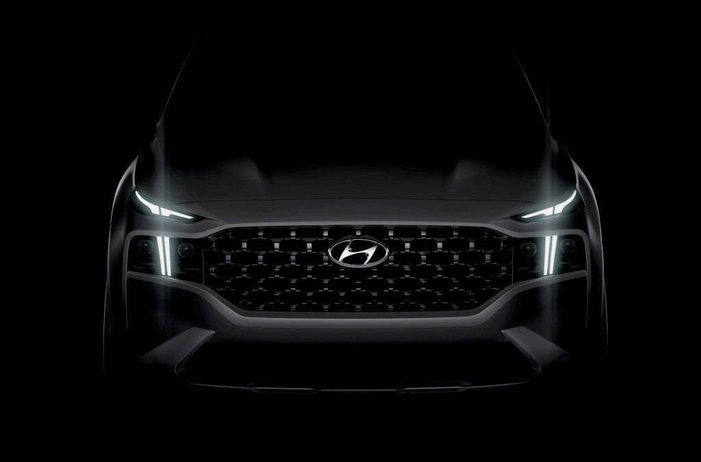 Hyundai kondigt nieuwe Santa Fe aan